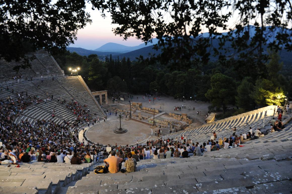 Το θέατρο της Επιδαύρου
