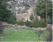 Η εκκλησία της Αγίας Μαρίνας