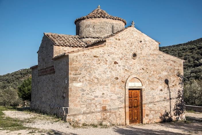 Βυζαντινή εκκλησία του Αγίου Ιωάννη του Θεολόγου